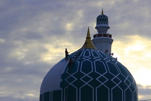 Kontraktor Kubah Masjid Ambon Maluku